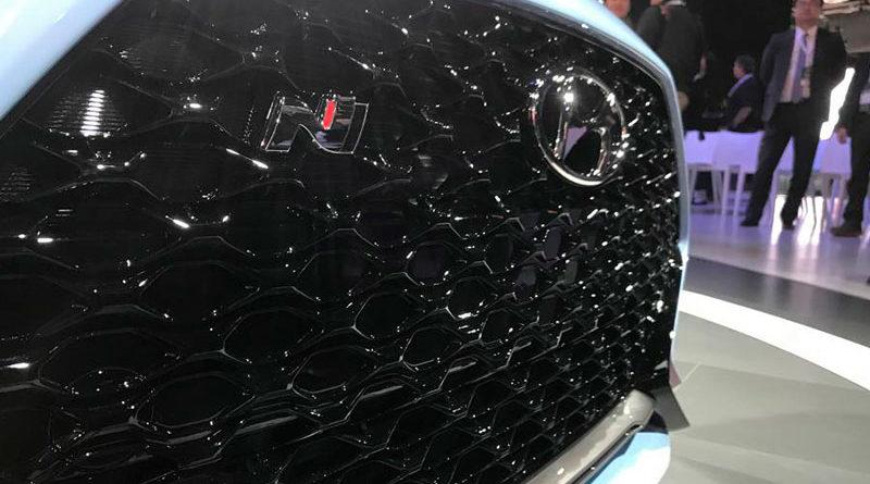 Новые фотографии заряженной версии Hyundai Veloster N