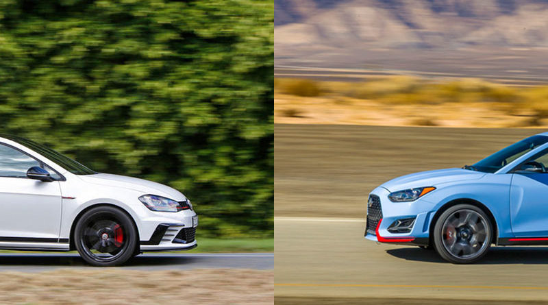 Hyundai Veloster N vs VW Golf GTI