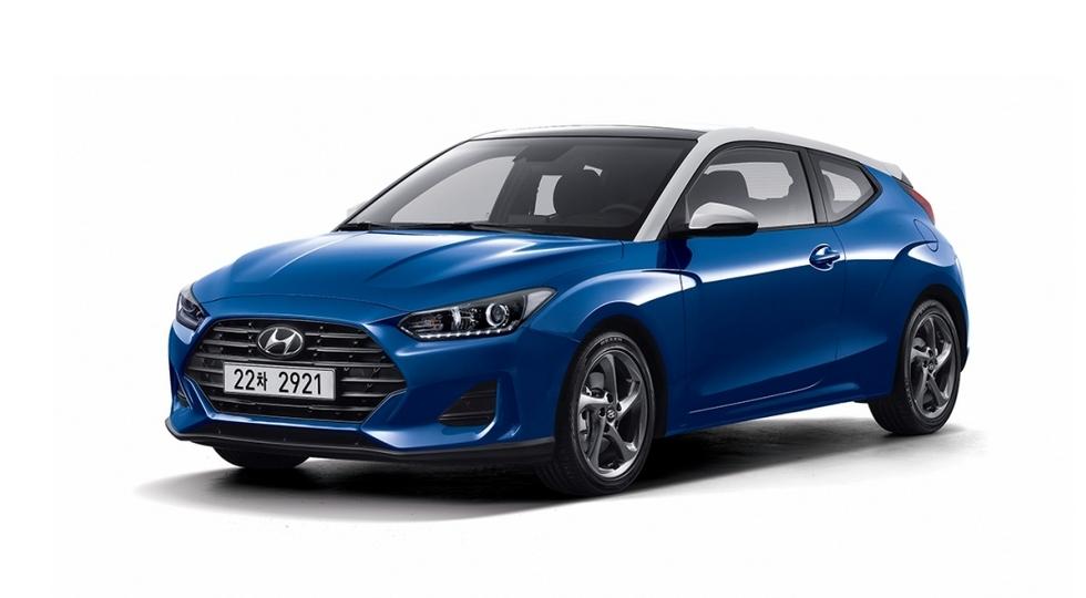 Новый Hyundai Veloster 2019