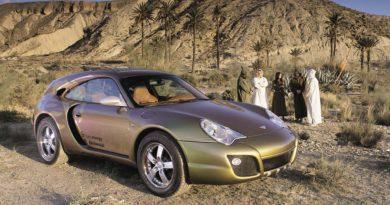 Через 17 лет пикап Porsche 911 от Rinspeed выглядит уже не так безумно