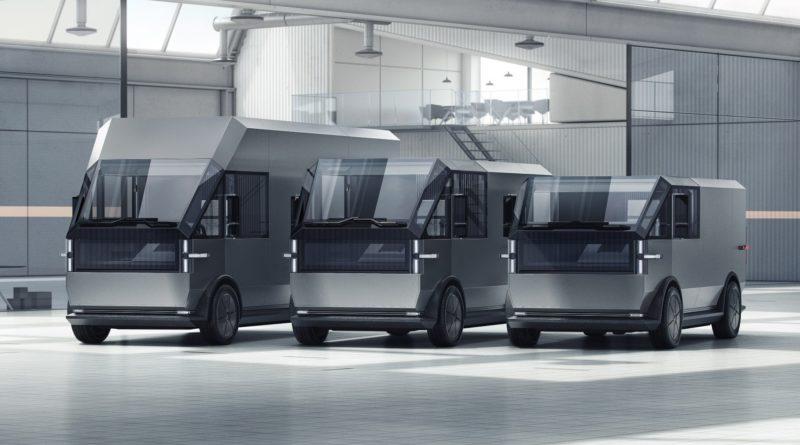 Коммерческий фургон Canoo MPDV
