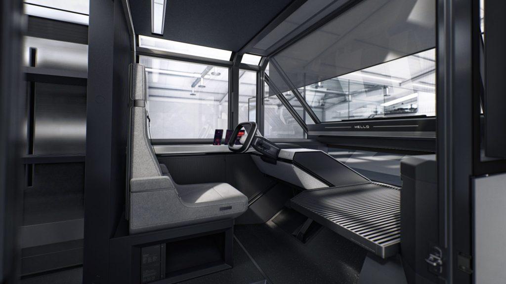 Коммерческий фургон Canoo MPDV - это гибкий дизайн на простой электрической платформе