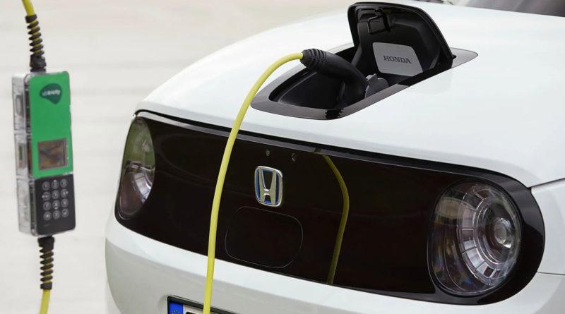 Honda электромобиль